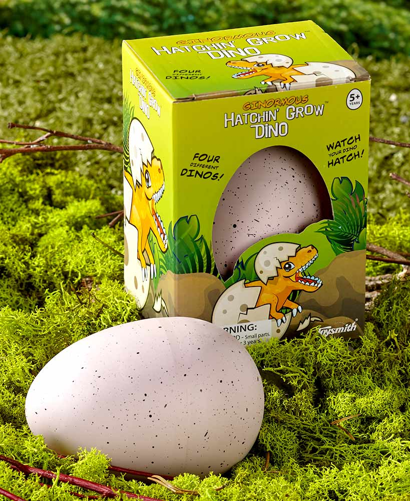 Set of 2 Ginormous Hatchin' Grow? Dino Eggs