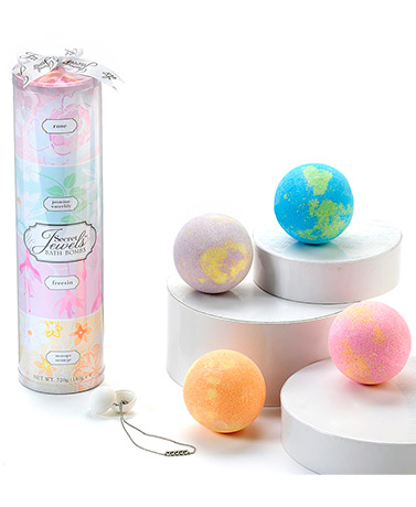 Secret Jewels™ 4-Pc. Bath Bomb Gift Sets