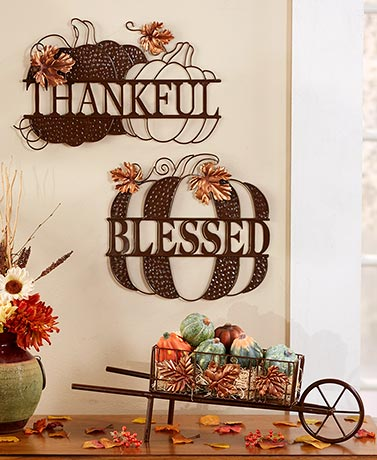 Harvest Blessings Wall Hangings