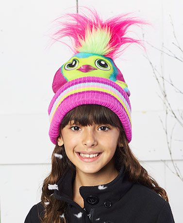 Hatchimal Cold Weather Hats with Hair