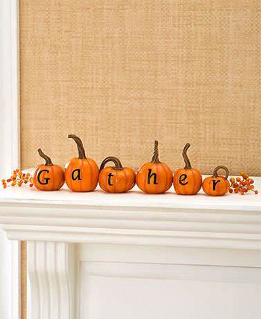 6-Pc. Pumpkin Sets