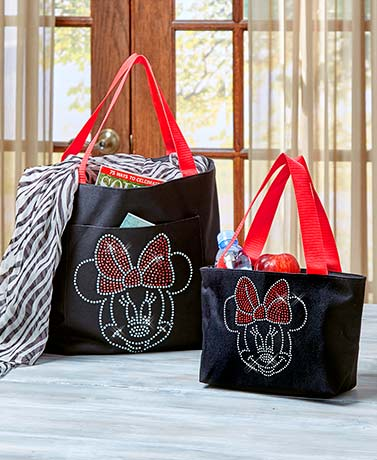 Disney Bling Insulated Lunch Bags or Totes