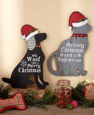 Christmas Pet Wall Decorations