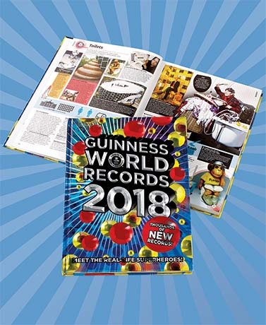 2018 Guinness World Records Book