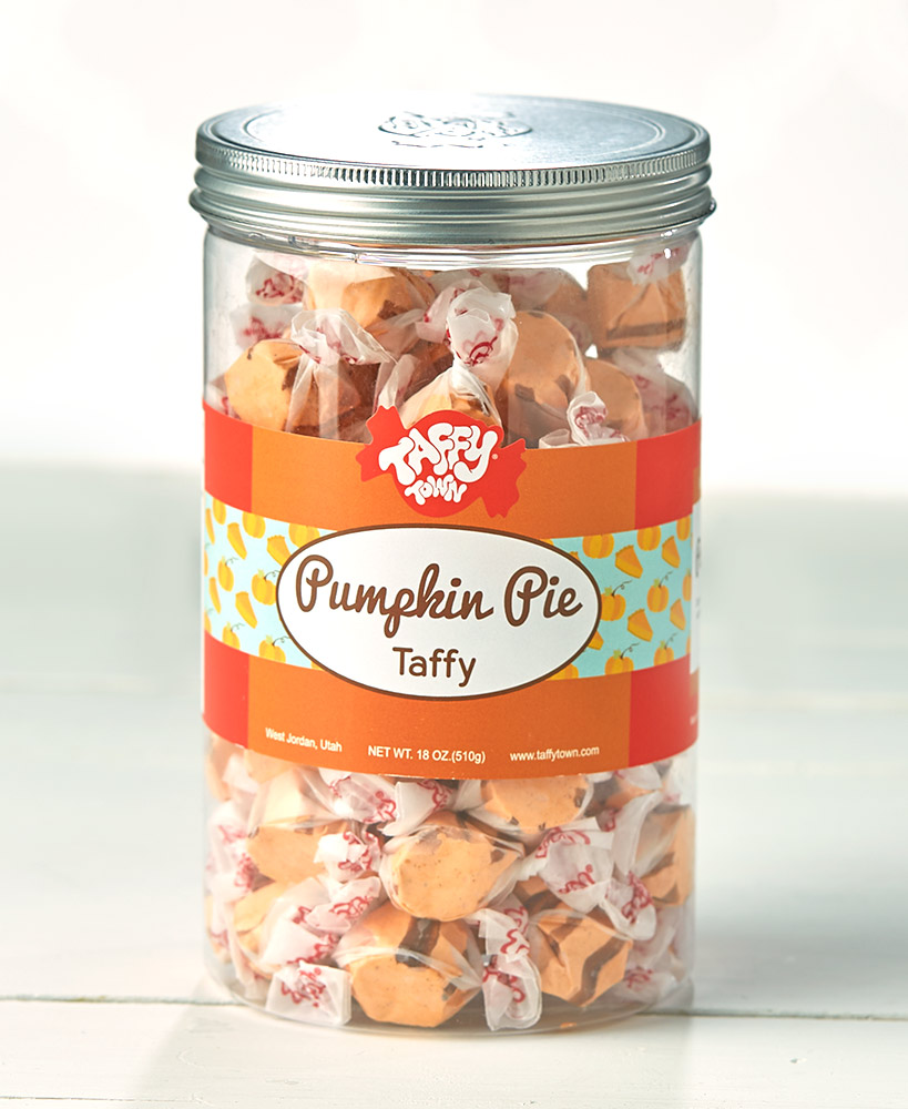 18-Oz  Gourmet Taffy Gift Canisters