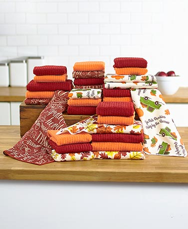 10-Pc. Kitchen Towel Sets