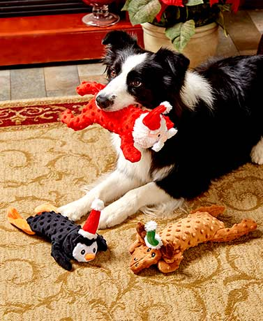 Holiday Skinneeez Extreme™ Dog Toys