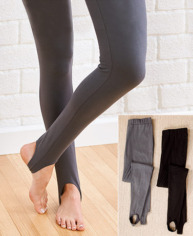 Women's 2-Pk. Stirrup Pants