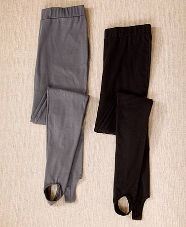 Women's and Women's Plus 2-Pk. Stirrup Pants
