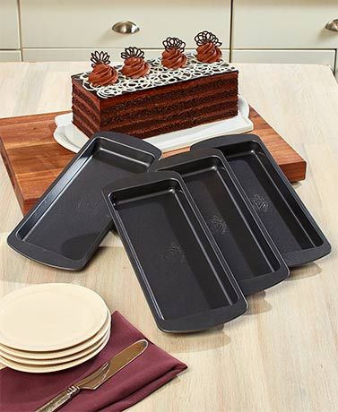4-Pc. Layer Cake Pan Set