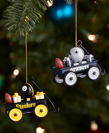 NFL Wagon Ornaments