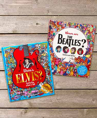 Find Elvis or The Beatles Books for Adults