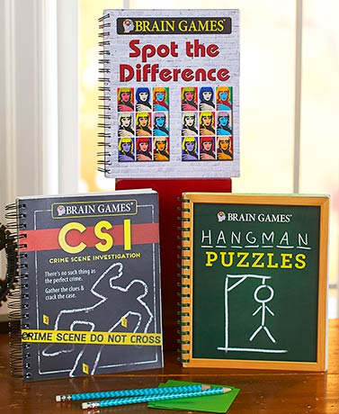 Brain Games® Puzzle Books