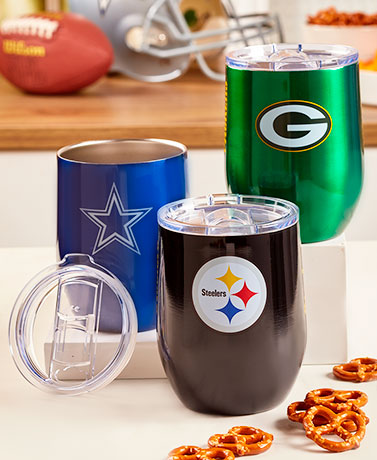 NFL Stainless Steel Ultra Wine Tumblers