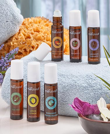 Therawell™ Sets of 3 Roll-On Essential Oils