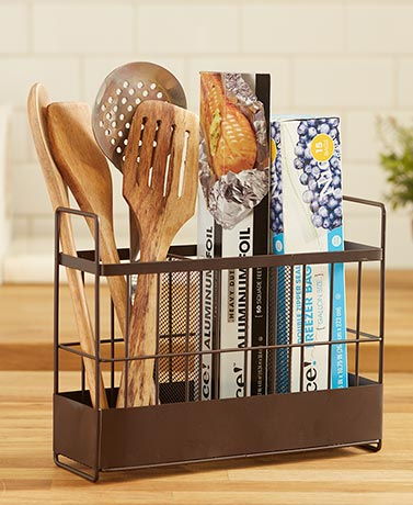 Countertop Wrap and Utensil Organizers