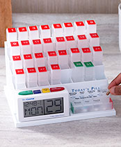 MedCenter™ Monthly Pill Organizer