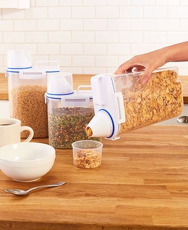 Pour & Store Food Storage Containers