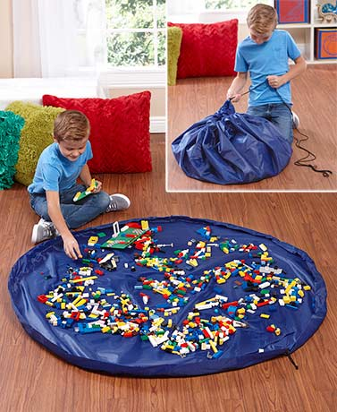 Set of 3 Foldable Storage Playmats