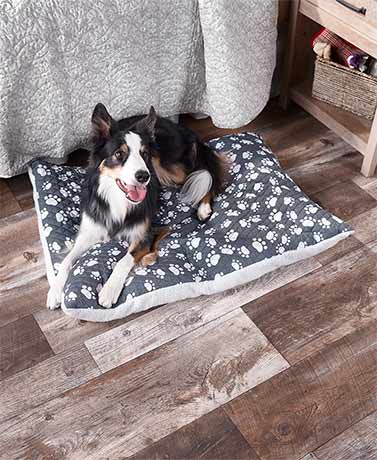Quilted Reversible Pet Cushions
