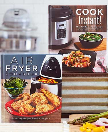 Cook Instant! or Air Fryer Cookbooks