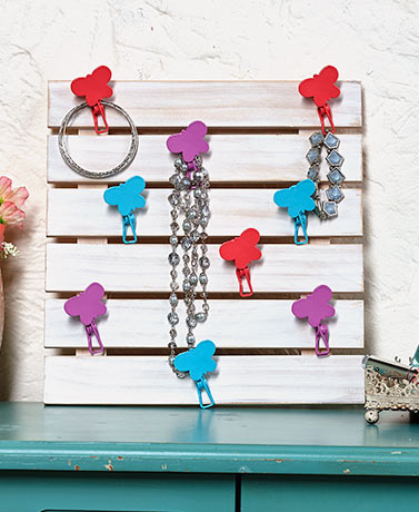 Pallet Accessory Scarf Hangers