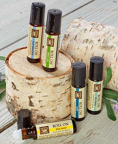 Aromatherapy Pure Essential Oil Roll-Ons