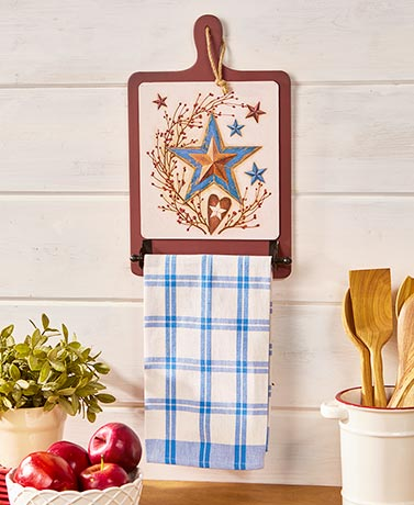 Decorative Kitchen Towel Holders