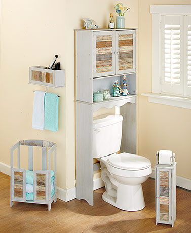 Coastal Wood Bath Furniture