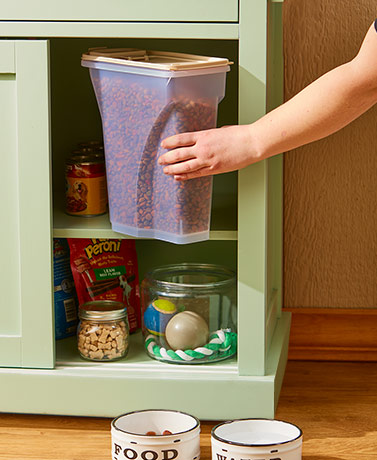 Iris® 8-Qt. Pet Food Containers