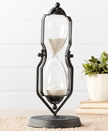 "14"" Decorative Hourglass"