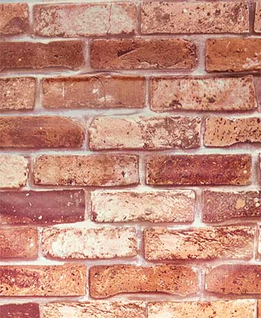 Peel and Stick PVC Wall Coverings - Classic Brick