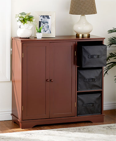 Classic Storage Units or Faux Leather Bins