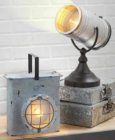 Vintage Industrial Style Accent Lights
