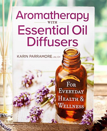 Aromatherapy with Oils Diffuser Book