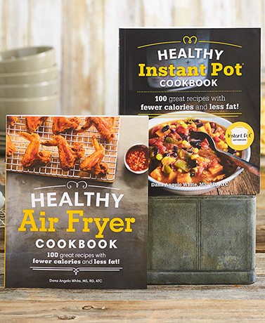 Healthy Air Fryer or Instant Pot® Cookbooks