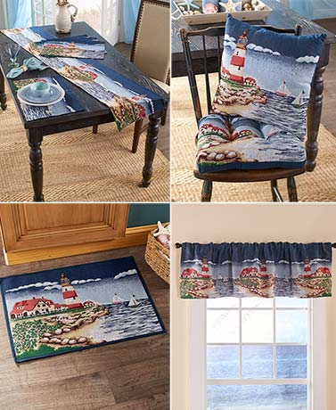 Lighthouse Tapestry Home Collection