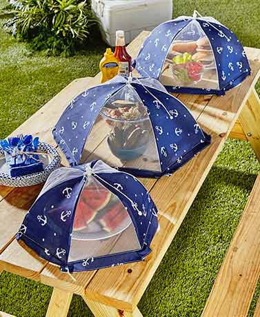 Sets of 3 Themed Food Tents