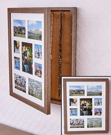 Photo Collage Jewelry Holders