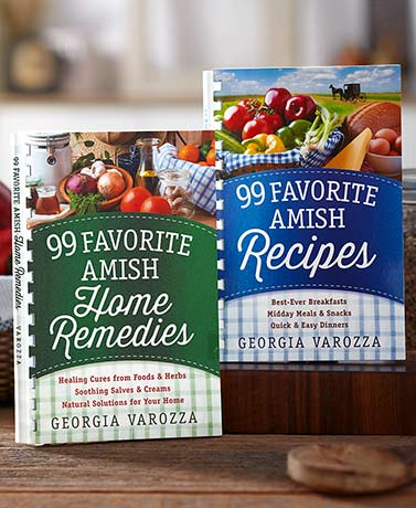 99 Favorite Amish Recipes or Home Remedies Books