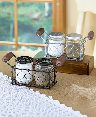 Country Salt and Pepper Sets