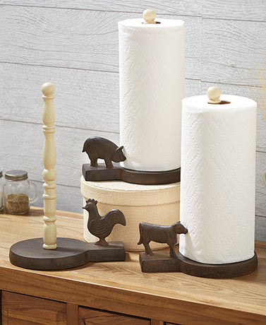 Farmhouse Paper Towel Holders