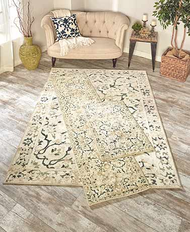 Vintage-Look Floor Rugs