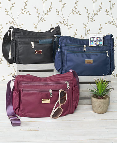Lightweight Multi-Pocket Crossbody Bags