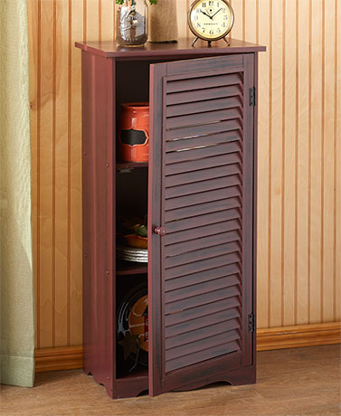 Rustic Country Shutter Cabinets