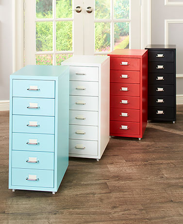 6-Drawer Office Storage Cabinets