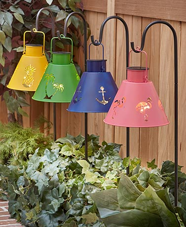 Themed Solar Lantern with Stake