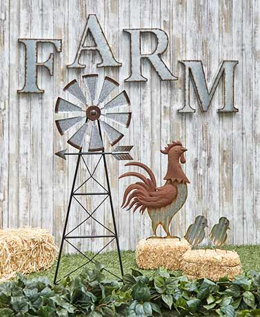 Farmhouse Garden Accents