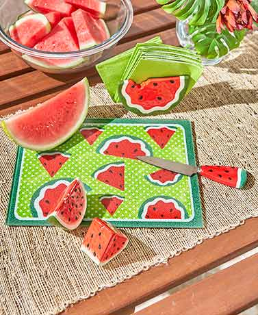 Watermelon Tabletop Collection