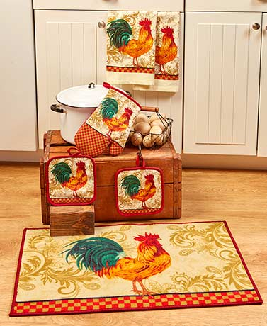 5-Pc. Kitchen Towel Sets or Rugs